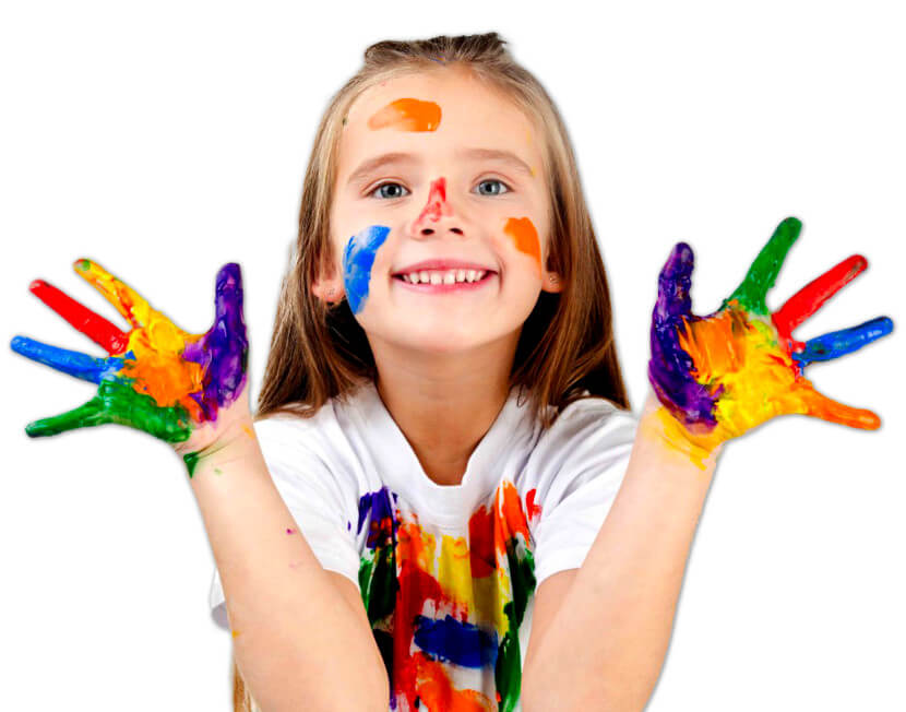 Bambina colori
